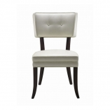 5West+Amelia+Genuine+Leather+Upholstered+Dining+Chair